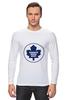 """Лонгслив """"Торонто Мэйпл Лифс """" - хоккей, nhl, нхл, toronto maple leafs, торонто мэйпл лифс"""