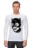 "Лонгслив ""Женщина-кошка (Catwoman)"" - catwoman, dc comics, бэтмен, женщина-кошка, batman"
