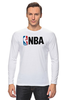 "Лонгслив ""National Basketball Association"" - баскетбол, nba, нба"