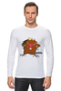 "Лонгслив ""The Angry Beavers"" - бобер, бобры, крутые бобры, the angry beavers"