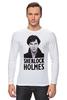 """Лонгслив """"Sherlock Holmes"""" - london, шерлок, холмс, ватсон, cumberbatch"""