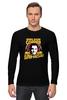 """Лонгслив """"Sheldon Cooper (Шелдон Купер)"""" - the big bang theory, теория большого взрыва, шелдон купер, super villian"""