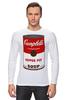 """Лонгслив """"Campbell's Soup (Энди Уорхол)"""" - поп арт, энди уорхол, pop art, andy warhol"""