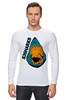 "Лонгслив ""San Jose Sharks Сан-Хосе Шаркс "" - спорт, хоккей, нхл, san jose sharks, сан-хосе шаркс"