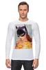 """Лонгслив """"EL BATGIRL"""" - batwoman, бэтмэн, бэтгерл"""