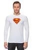 "Лонгслив ""Супермен"" - comics, супермен, superman"