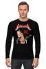"Лонгслив ""Metallica"" - metallica, рок группа, металлика, james hetfield, джеймс хетфилд"