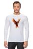 """Лонгслив """"Птица-Феникс"""" - птица, сказки, феникс, возрождение"""
