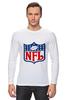 """Лонгслив """"NFL"""" - авторские майки, американский футбол, american football, нфл"""