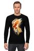 """Лонгслив """"Феникс"""" - арт, огонь, птица, абстракция, феникс, phoenix"""