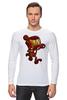 "Лонгслив ""Бомбермэн (Bomberman)"" - железный человек, iron man"