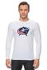 "Лонгслив ""Columbus Blue Jackets / NHL USA"" - usa, nhl, columbus blue jackets, kinoart"