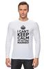 """Лонгслив """"I cant keep calm i am getting married"""" - девичник, невеста, праздники, свадьба, keep calm"""