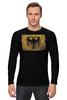 """Лонгслив """"Российская Империя"""" - герб, орёл, флаг, империя, российская империя"""