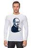 "Лонгслив ""Путин - like"" - россия, путин, like, президент, putin"