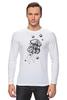 "Лонгслив ""Meduzz T2"" - море, графика, медуза, дотворк, jellyfish, tm kiseleva"