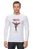 """Лонгслив """"Nirvana In Utero t-shirt"""" - grunge, nirvana, kurt cobain, курт кобейн, in utero"""