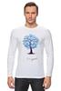"""Лонгслив """"new year"""" - дерево, new year, новыый год"""