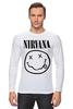 "Лонгслив ""Nirvana (Нирвана)"" - nirvana, нирвана"