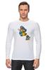 """Лонгслив """"Breaking Bad x Mario"""" - во все тяжкие, хайзенберг, гайзенберг, марио"""