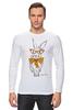 """Лонгслив """"Кролик"""" - арт, кролик, rabbit"""