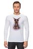 """Лонгслив """"Доберман"""" - иллюстрация, собаки, doberman, доберман"""