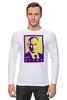 """Лонгслив """"Мой Путин"""" - россия, путин, президент, putin, кремль, мой путин"""