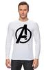 """Лонгслив """"Avengers"""" - marvel, мстители, avengers"""