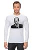 "Лонгслив ""Putin"" - россия, путин, президент, putin, president"
