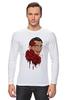 """Лонгслив """"Сальвадор Дали и розы."""" - арт, сюрреализм, roses, salvador dali, surrealism, artist"""