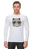 """Лонгслив """"Hello Kitty x Grumpy Cat"""" - кот, кошка, grumpy cat, привет киска, сердитый котик"""