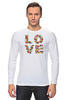 "Лонгслив ""LOVE "" - любовь, 14 февраля, valentine's day"
