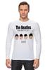"""Лонгслив """"The Beatles 1963 """" - rock, england, великолепная четвёрка"""