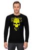 "Лонгслив ""PIRATES.Spirit of freedom !"" - skull, череп, свобода, пират, pirates"