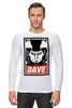 """Лонгслив """"Dave (2001: A Space Odyssey)"""" - obey, dave, space odyssey, космическая одиссея 2001 года"""