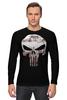"Лонгслив ""The Punisher"" - skull, череп, касл, marvel, антигерой, палач, punisher, каратель, фрэнк касл"