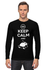 "Лонгслив ""Keep Calm and Zzz (Pokemon)"" - pokemon, покемон, keep calm, сохраняй спокойствие и спи"