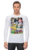 """Лонгслив """"Adventure Time """" - adventure time, время приключений, фин, джейк, jake, finn, бубльгум"""