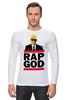 "Лонгслив ""Эминем, Бог Рэпа "" - eminem, эминем, бог рэпа, rap god"