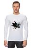 "Лонгслив ""San Jose Sharks"" - 3d, хоккей, swag, нхл, сан-хосе шаркс"