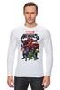 "Лонгслив ""Marvel Heroes"" - comics, marvel, superheroes"