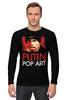 "Лонгслив ""путин"" - знаменитости, путин, pop art, президент, putin"