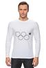 """Лонгслив """"Олимпийские кольца в Сочи 2014"""" - олимпиада, нераскрывшееся олимпийское кольцо, олипийские кольца, сочи-2014, sochi-2014"""