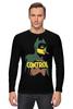 """Лонгслив """"Контроль"""" - комиксы, batman, супергерои, бэтмен, dc comics"""