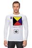 "Лонгслив ""Zulu (Z), флаг МСС (eng) "" - море, флаг, мсс, boatstyle, яхтринг"