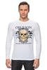 """Лонгслив """"Oblivion"""" - череп, ангел, дизайн, oblivion, забвение"""