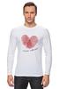 """Лонгслив """"Самый любимый"""" - сердце, 23 февраля, день защитника отечества, любимый"""
