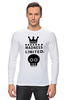 "Лонгслив ""Madness"" - skull, корона, фэшн, череп, crown"
