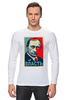 "Лонгслив ""Путин, Власть"" - россия, russia, президент, obey, putin"
