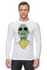 "Лонгслив ""Психоделика"" - zombie, зомби, green, shades"